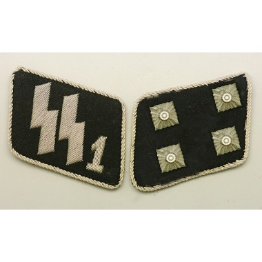 SSVT Major(SS-Sturmbannfuhrer) Collar Tabs