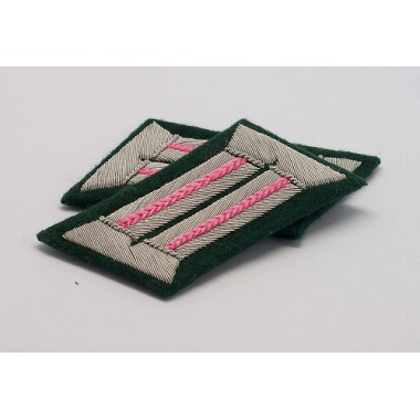 Heer Officer Collar Tabs(Panzer)