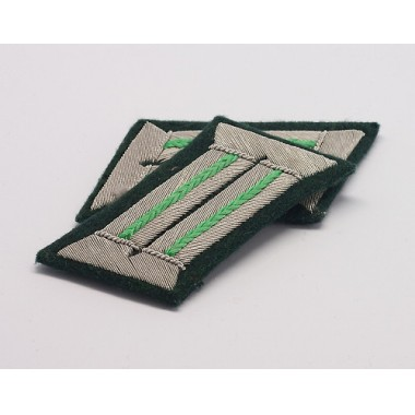 Heer Officer Collar Tabs(Mountain Troop )