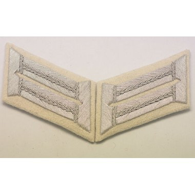 Heer Officer Waffenrock Collar Tabs(Infantry)