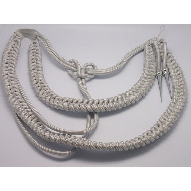 German Officer's Aiguillette (Silver )