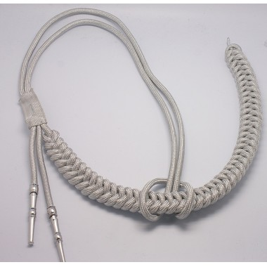 German Adjutant Aiguillette (Silver )