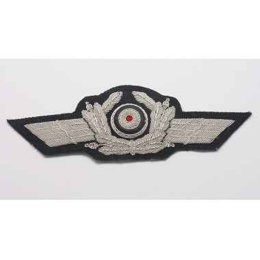Embroidered Luftwaffe General Cap Wreath & Cockade