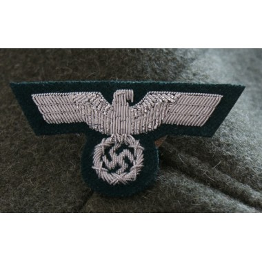 Embroidered Heer Officer Cap Eagle