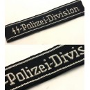 4SS Polizei Division Officer Cuff Title