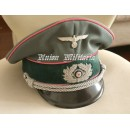 WW2 German Heer Panzer Officer Visor Cap
