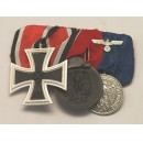 WW2 German 3R Medal Bar(#4)