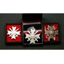 WW2 German War Merit Cross Set