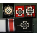 WW2 German Cross and Iron Cross Set