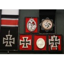 WW2 German Panzer Medal Set