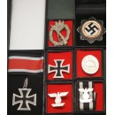 WW2 German Infantry General Medal set