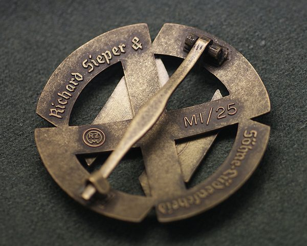 High Quality Ss Proficiency Sport Badge In Bronze