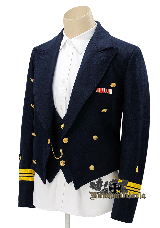 High Quality Ww2 German Kriegsmarine Blue Mess Dress Tunic For Sale