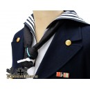 WW2 German Kriegsmarine Sailor Blue Mess Dress Tunic
