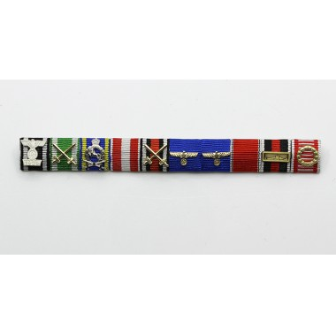 Bodewin Claus Eduard Keitel's Ribbon Bar