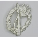 Infantry Assault Badge in Silver with LDO Box