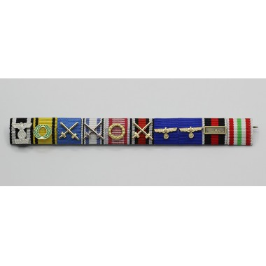 Field Marshal Rommel's Ribbon Bar