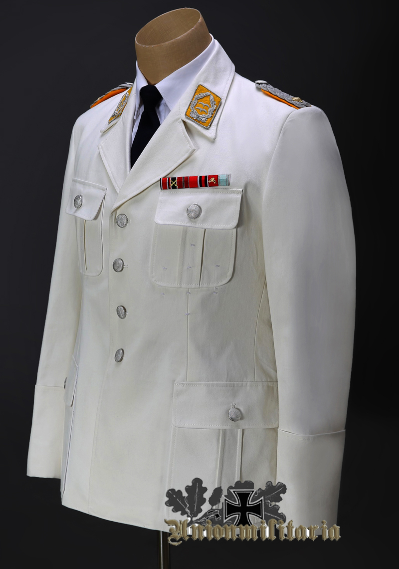 high quality luftwaffe officer white tunic for sale