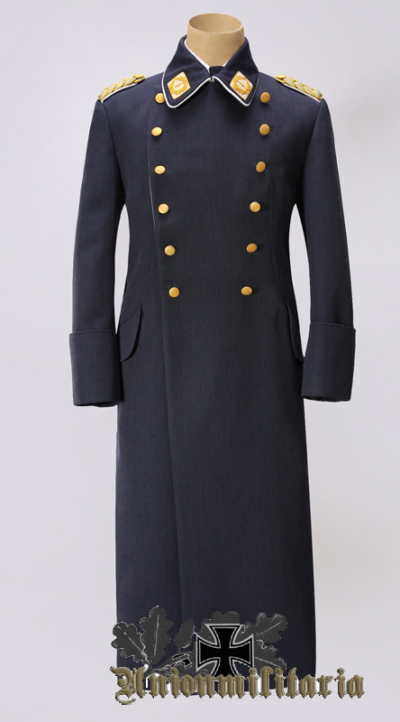 High Quality Luftwaffe General Overcoat Reproduction For Sale