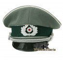WW2 German Heer Officer Visor Cap