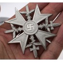 Spanish Cross with Swords -Silver