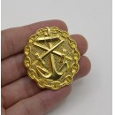 WWI German Naval Wound Badge in Gold