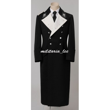 WW2 German General M32 Black Overcoat(tailor made)