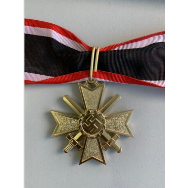 Knights Cross of the War Merit Cross with Swords in Gold