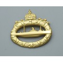 WW1 U-boat War Badge
