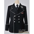 WW2 German SS Officers Black Mess Dress Tunic
