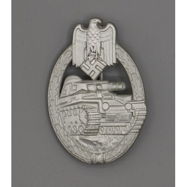 Panzer Assault Badge in Silver(MM:AS )