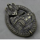 Panzer Assault Badge in Bronze with LDO Box