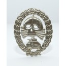 Condor Legion Tank Badge(Nickel Silver)